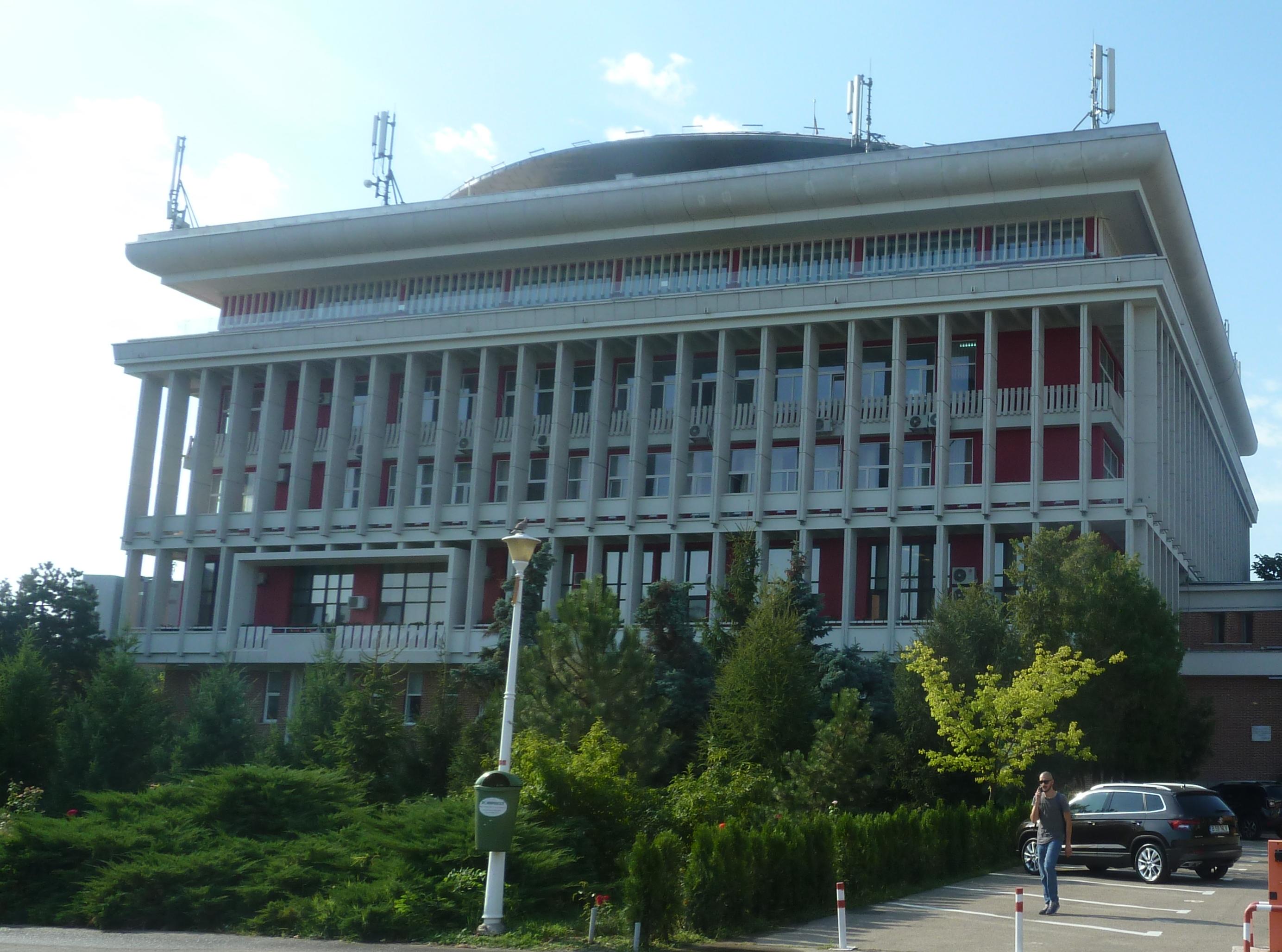 Hlavná budova Polytechnickej University v Bukurešti, (foto: imriš)