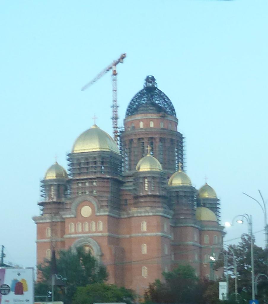 Nedokončená Katedrála spásy Rumunského ľudu (foto: imriš)