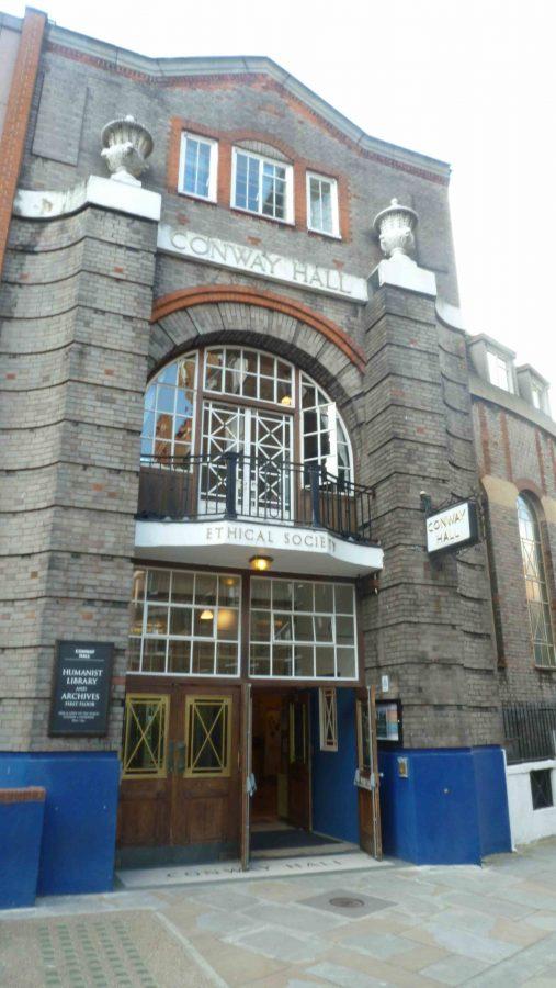 Budova Conway hall, kde sa uskutočnilo podujatie (foto: Imriš)