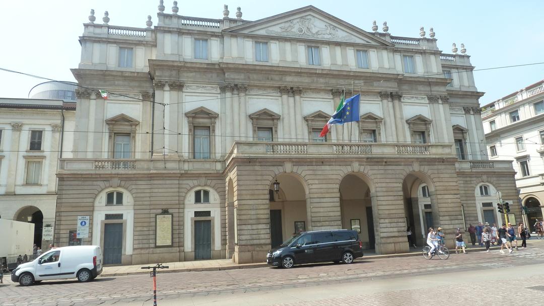 La Scala - divadlo založené v Miláne Máriou Teréziou, (foto: imriš, 2019)
