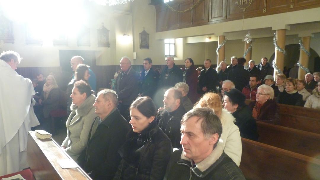 Obrázok: sv. omša k úcte sv. Ambróza, Lutila, 29.12.2019. (Foto: Imriš)