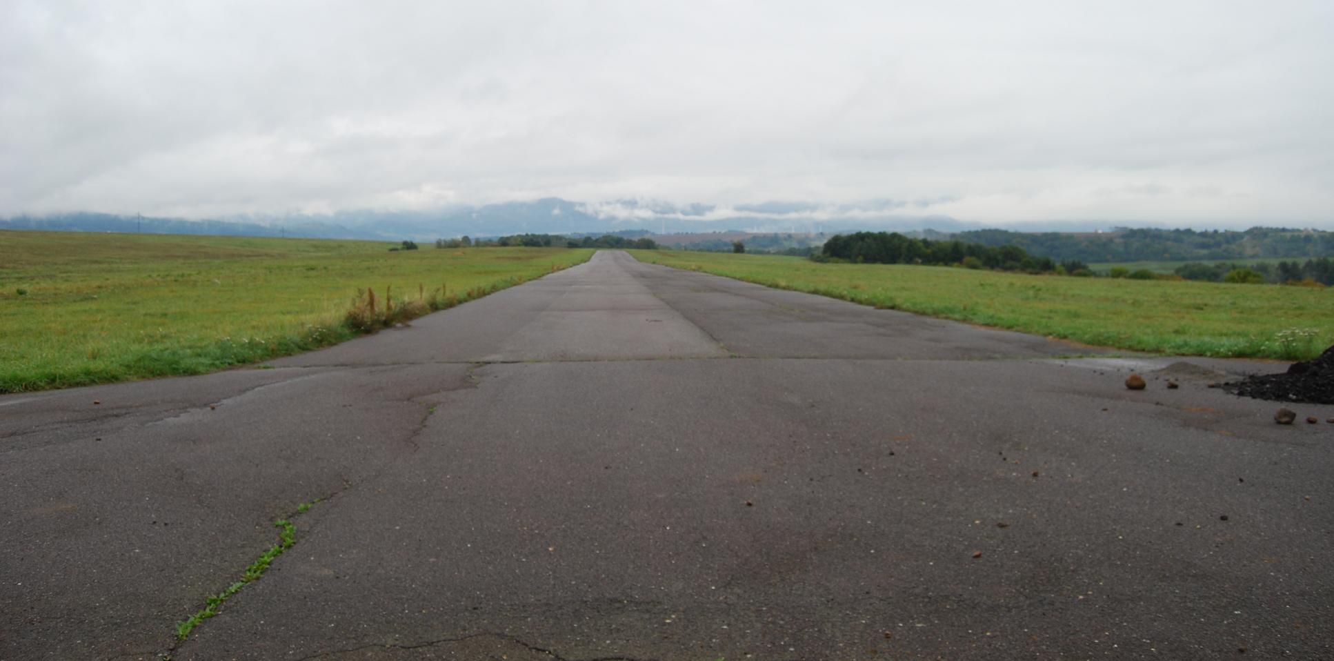 Lutilské letisko postavené v90. rokoch
